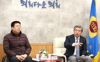 [아시아타임즈=권혁철 기자]송한준 경기도의회 의장(더민주, 안산1)은 5일 장애인 활동가에 대한 추가 지원방안을 모색하겠다고 밝혔다.